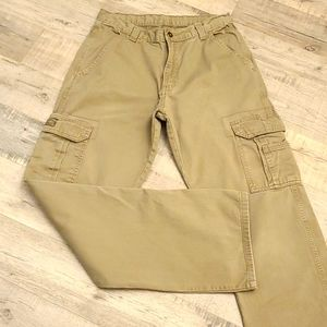 WRANGLER Khaki Cargo Pants